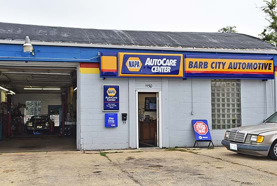 Barb City Automotive store front